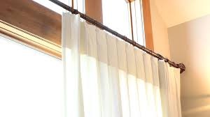 One Way Decorative Traverse Curtain Rods by Onaverse Iron Traverse Rod Youtube