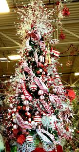 Candy Cane Christmas Tree Merry Little