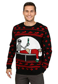 men u0027s santa probe christmas sweater