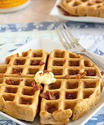 Bisquick Pumpkin Puree Waffles by Ham And Cheddar Waffles Recipe Its Yummi