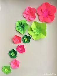 Paper Flower Craft Making