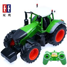 100 Toy Farm Trucks Electric Rc Plastic S 6 Channel 24g 116 Tractor