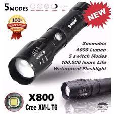torche led x800 achat vente torche led x800 pas cher cdiscount