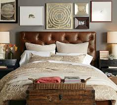 Black Leather Headboard With Diamonds by So Comfy Looking Love The Trunk Lamps Wall Decor And Headboard