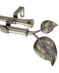 rod desyne ivy double curtain rod collection macy s