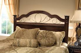 Wrought Iron And Wood King Headboard by Superb Wood And Iron Headboards Headboard Ikea Action Copy Com