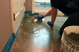 how to patch and level a concrete subfloor pretty handy