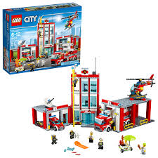 100 Lego Fire Truck Games LEGO City Station 60110 Building Set 919 Pieces Walmartcom