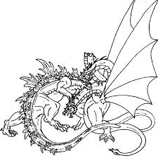 Godzilla Great Fight Of And Dragon Coloring Pages
