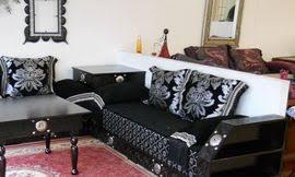 canapé arabe acheter un salon marocain et des tissus marocains sur evasion déco