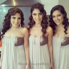 popular silver bridesmaids dresses short buy cheap silver