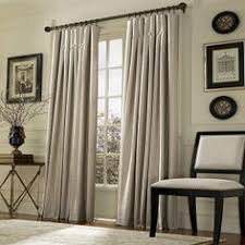 Curtains Ivory Living Room Long High And Dark Rods So PERFECT