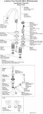 mini widespread faucet delta plumbingwarehouse delta bathroom faucet parts for model 4538