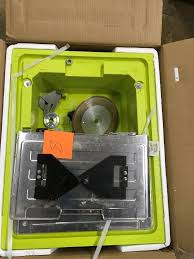 ryobi ws722 7 inch corded tile saw used in working condition