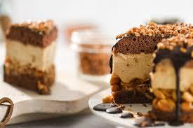 erdnuss karamell torte