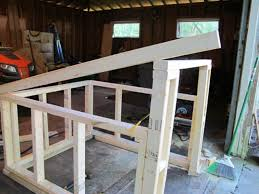 Slant Roof Shed Plans Free by How To Build A Modern Dog House How Tos Diy