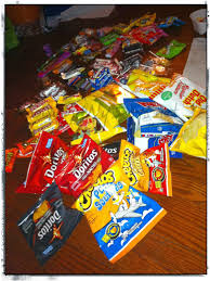 Leftover Halloween Candy Donation Canada by Raising My Boys October 2014