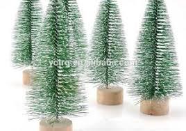 Mini Faux Christmas Trees Concept Of Unlit Tree