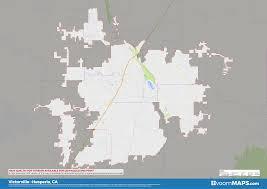 Road Zip Code Neighborhood Map Of Victorville Hesperia CA