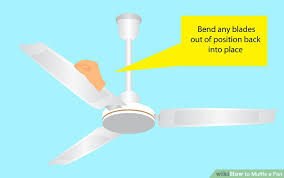 Ceiling Fan Making Grinding Noise by How To Muffle A Fan 7 Steps With Pictures Wikihow