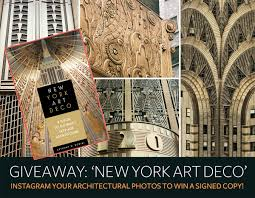 100 Art Deco Architecture GIVEAWAY Instagram Your Architectural Photos To Win A Signed Copy