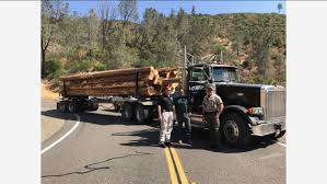 100 Merced Truck And Trailer Logging Truck Helps Mariposa County Authorities Stop High Speed