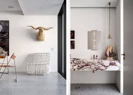 Storm Tiles Create A Contrast To The White Walls But Still Maintain Light And Fresh Flooring Finish That Is Ideal For Coastal Location