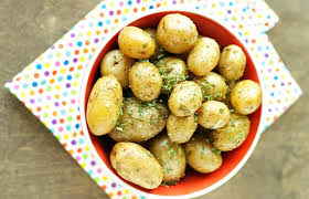 Slow Cooker Herbed Potatoes