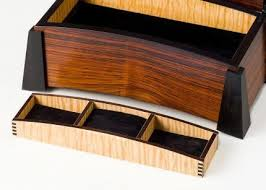 Jewelry Box Bent Laminated Lid