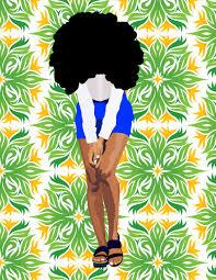 Illustration Art My Artwork Natural Digital Afrocentric Poc African American Black Afro Illustrator