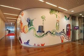 Wall Mural Idea For Office Vinylimpressioncouk
