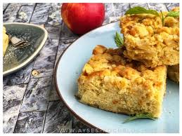 apple crumble kuchen l omas apfelkuchen vom blech mit