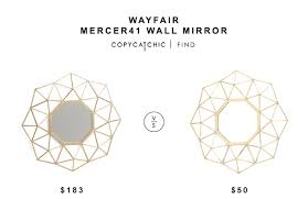 Wayfair Decorative Wall Mirrors by Wayfair Mercer41 Wall Mirror Copycatchic