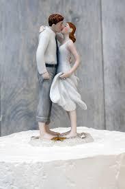 Beach Themed Wedding Cake Topper