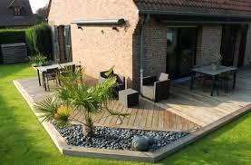 plots beton pour terrasse bois evtod