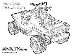 Halo Coloring Pages 19 Pictures