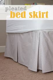 Split Corner Bed Skirt by Diy Pleated Bed Skirt Make It And Love It