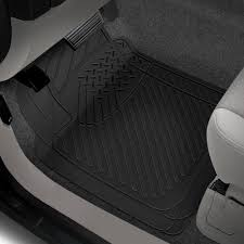 Rubber Queen® 70901 - Truck 1st Row Black Floor Mats