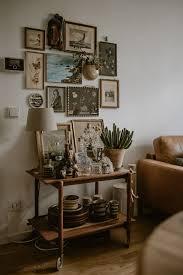 vintage deko bohemian bilderwand böhmisches wohnzimmer