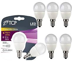 6pack tcp 5w e14 ses led bulb mini globe led lights co uk