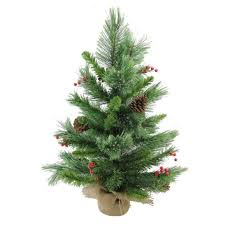 Northlight 24 Mixed Cashmere Berry Pine Artificial Christmas Tree