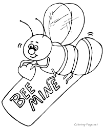 Valentines Day Coloring Book Pages