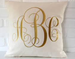 gold throw pillow etsy