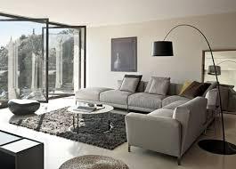 grauer hochflor teppich wohnzimmer grau wohnzimmer modern