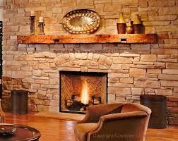 reclaimed wood fireplace mantel log mantels rustic mantels