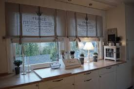 Rustic Country Kitchen Curtains Hom