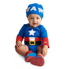 Captain America Costume Bodysuit Collection For Baby ShopDisney