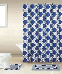 Royal Blue Bathroom Decor by Royal Blue Bathroom Sets Wall Decor Lattice Bath Set Piece