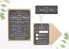 Rustic Wedding Invitations Free Template