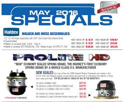 Truck Centers, Inc. May Parts Specials - NextTruck Blog & Industry ...